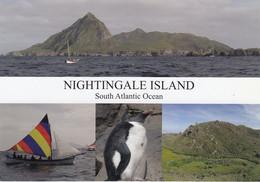 Nightingale Island / Tristan Da Cunha Postcard Ca Tristan Da Cunha 26 AU 2020 (F8895) - Tristan Da Cunha