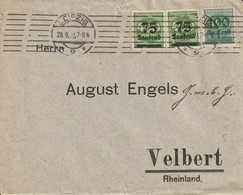 Allemagne Lettre Inflation Leipzig 1923 - Covers & Documents