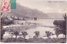 Dyk-  Suisse Cpa  LOCARNO  11560 - TI Tessin