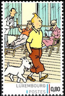 Timbre Privé** - Tintin Et Milou En Promenade / Kuifje En Bobbie Wandelen / Tim Und Struppi Schlendern - Autres