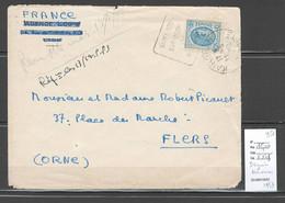 Tunisie - Cachet Daguin - KAIROUAN - 1952 - Covers & Documents