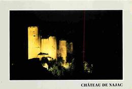 12 - Najac - Le Château - Vue De Nuit - CPM - Voir Scans Recto-Verso - Najac
