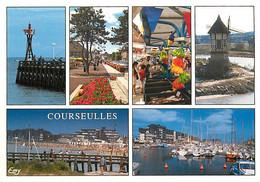 14 - Courseulles Sur Mer - Multivues - Moulin à Vent - Marché - Carte Neuve - CPM - Voir Scans Recto-Verso - Courseulles-sur-Mer