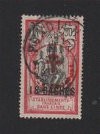 """Faux Inde N° 230B, 18 Ca Sur 30 Csurchargé """"FRANCE TOUJOURS"""" Oblitéré - Used Stamps"""