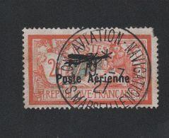 Faux Poste Aérienne N° 1, 2 F Merson Oblitéré Du Salon 2eme Choix - 1927-1959 Used