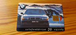 Phonecard Hungary - Car, BMW - 2.500 Ex., Mint Condition! - Ungheria