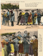 Les Chansons De Jean RAMEAU Illustrées - Lot De 4 CPSM - Unclassified