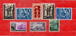 ITALIA REPUBBLICA**-1955 - LOTTO DI 6 Serie RISERVATO à BIRILLINO. MNH ** . - 1946-60: Nieuw/plakker