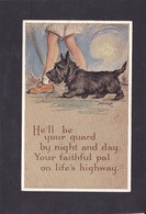 Dog Card -   He'll Be Your Guard !!  -  Mac. - Perros