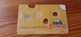 Phonecard Hungary - Food, Pannónia Cheese  With Holes - 2.000 Ex., Mint Condition! - Ungheria
