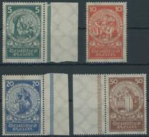 Dt. Reich 351-54 **, 1924, Nothilfe, Prachtsatz, Mi. 160.- - Ungebraucht