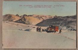 CPA 05 - LE LAUTARET - Le Plateau De L'Alpe En Hiver - Le Tank Chasse-Neige Ouvrant La Route TB PLAN ANIMATION - Andere Gemeenten