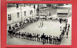 NEUFCHATEL EN SAOSNOIS 1960 PERSEIGNE LEVER DES COULEURS CARTE EN TRES BON ETAT - Autres Communes