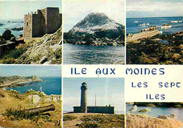 56 - Ile Aux Moines - Multivues - Flamme Postale - CPM - Voir Scans Recto-Verso - Ile Aux Moines