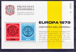 Andorre Viguerie épiscopale  Europa 1979 Neuf ** MNH Sin Charmela - Episcopale Vignetten