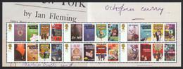 Großbritannien 2008 - Mi-Nr. Block 42 ** - MNH - Ian Fleming - Ungebraucht