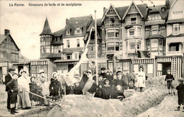 België - La Panne - Scultpures - 1909 - Non Classificati