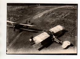 ZZ-5530/ Flugzeuge D 144 Und D 71  Foto Seltenes Luftbild 18 X 13 Cm  - Unclassified