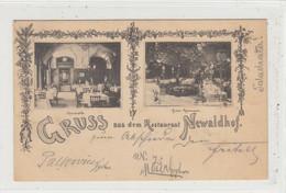 Wien  IX., Alsergrund  --  Restaurant  Newaldhof  ,  Währinger Straße 22 - Zonder Classificatie