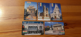 Phonecard Set Hungary - Hungarian Architecture - 2.000 Ex., Mint Condition! - Ungheria