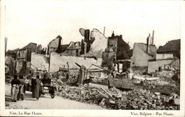 België - Vise - Rue Haute - Auto - 1915 - Unclassified