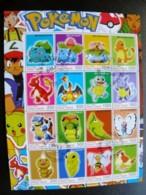 Sheetlet Pokemon Animals - Verhalen, Fabels En Legenden