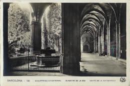 E - Cat - Barcelona - Claustro De La Catedral - Claustre De La Seu - Coitre De Le Cathedrale [=cloître] (carte-photo) - Barcelona