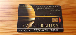 Phonecard Hungary - 21th Phonecard Fair, Space, Saturn - 2.000 Ex., Mint Condition! - Ungheria