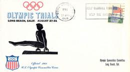 USA Cover Olympic Trials 1968 Long Beach, CA (DD25-37) - Autres