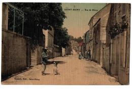 SAINT REMY RUE DE BLAIZY COULEUR ANIMEE - Andere Gemeenten