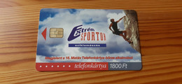 Phonecard Hungary - 16th Phonecard Fair, Extreme Sport, Rock Climbing- 2.000 Ex., Mint Condition! - Ungheria