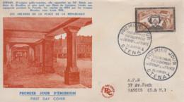 Enveloppe  FDC  1er  Jour   FRANCE    Tricentenaire  Du   Rattachement   De   STENAY   1954 - 1950-1959