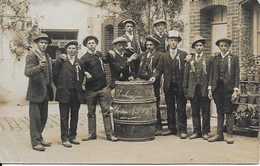 Carte Photo En Très Bon état Chahaignes Classe 1917 - Autres Communes
