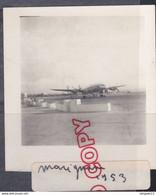 Au Plus Rapide Avion Aérodrome De Marignane 1953 - Aviation