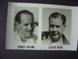 Photos Des Pilotes - Racing Drivers - DENIS HULME And LLOYD RUBY - Automobilismo - F1