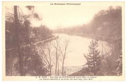 CPA 22 - MUR DE BRETAGNE (Côte D'Armor) - A. W. 5466.  Barrage De GUERLEDAN Entre Mûr Et Caurel - Le Blavet Canalisé - Autres Communes