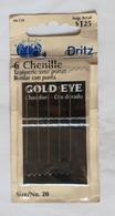 6 CHENILLE,GOLD EYE,DRITZ - Scrapbooking