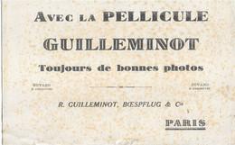 AVEC LA PELLICULE GUILLEMINOT TOUJOURS DE BONNES PHOTOS - PARIS - G