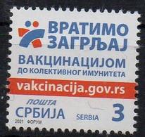SERBIE - SERBIA - 2021 - VACCINATION CONTRE LE COVID - VACCINATION AGAINST CORONA - - Serbia