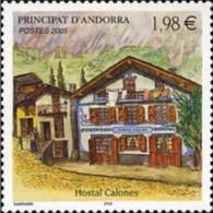 ANDORRA FRANCESA 2005 - HOSTAL CALONES - Yvert Nº 616 MNH ** - Ongebruikt