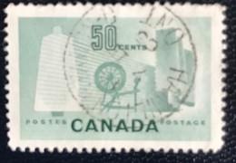 Canada - W1/23 - (°)used - 1953 - Michel 289 - Textielindustrie - Usados