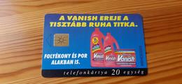 Phonecard Hungary - Vanish - 2.500 Ex., Mint Condition! - Ungheria