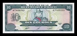 Haiti 10 Gourdes 1991 Pick 256a SC UNC - Haiti