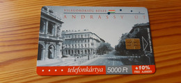 Phonecard Hungary - World Heritage, Andrássy Avenue, Budapest - 2.000 Ex., Mint Condition! - Ungheria