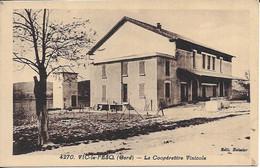 Vic Le Fesq La Coopérative Viticole Carte En Bon état - Autres Communes