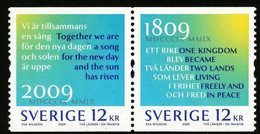 2009Sweden2693-2694PaarTwo Countries - One Future5,20 € - Neufs