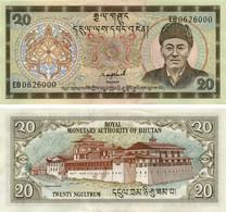 Bhutan 20 Ngultrum 2000 UNC (P23) - Bhutan
