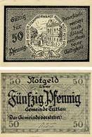 Germany Notgeld 50 Pfennigs F-VF Schleswig-Holstein - Lokale Ausgaben