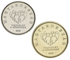Hungary Set Of 2 Coins 2020 UNC 10, 20 Forints Coronavirus COVID-2019 - Ungarn