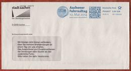 Brief, FRANKIT Pitney Bowes, Aachener Fahrradtag, 60 C, Aachen 2014 (4951) - Affrancature Meccaniche Rosse (EMA)